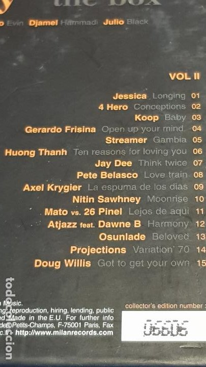 CDs de Música: MAN RAY / THE BOX / CAJA-BOX 2 CDS / 30 TEMAS / CALIDAD LUJO. - Foto 5 - 184708753