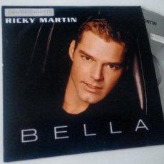 CDs de Música: CD-SINGLE ( PROMOCION) DE RICKY MARTIN . Lote 184759603