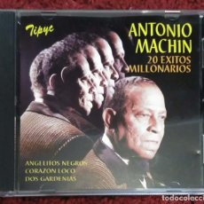 CDs de Música: ANTONIO MACHIN (20 EXITOS MILLONARIOS) CD 1995. Lote 184760592