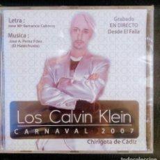 CDs de Música: CD PRECINTADO 2007 CHIRIGOTA DE BARRANCO EL LACIO CARNAVAL CÁDIZ. Lote 184764876
