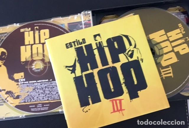 CDs de Música: ESTILO HIP HOP III - 3 CDS + DVD - MALA RODRÍGUEZ, LA EXCEPCIÓN, 7N7C, SOLO LOS SOLO, FRANK T - Foto 2 - 184777123