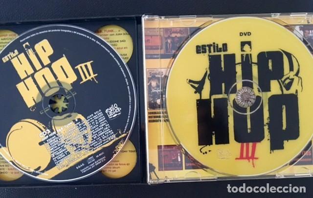 CDs de Música: ESTILO HIP HOP III - 3 CDS + DVD - MALA RODRÍGUEZ, LA EXCEPCIÓN, 7N7C, SOLO LOS SOLO, FRANK T - Foto 3 - 184777123