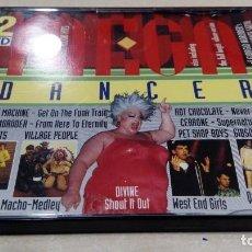 CDs de Música: 2 CD MEGA DANCER: VILLAGE PEOPLE, GIORGIO MORODER, VOYAGE, ROBERTA KELLY, GLORIA GAYNOR, ETC. Lote 184795156
