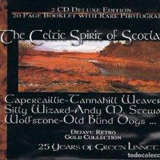 CDs de Música: THE CELTIC SPIRIT OF SCOTLAND. BOX 2 X CD. Lote 184822727