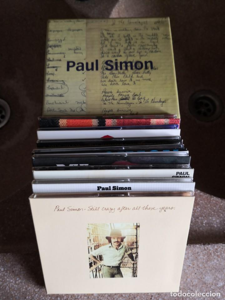 PAUL SIMON CAJA 9 CDS (Música - CD's Pop)