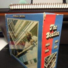 CDs de Música: THE BEATLES : 1962 - 1966 + 1967 - 1970 ( CAJA CON 2 DOBLES ESTUCHES, 4 CD'S / 54 CANCIONES ). Lote 184873628