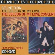 CDs de Música: CELINE DION * CD + DVD * THE COLOUR OF MY LOVE * PACK COMPLETO * PRECINTADO!!!. Lote 27182137