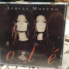 CDs de Música: AZÚCAR MORENO - OLÉ - CD ALBUM PEPETO. Lote 184883258