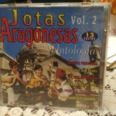 CDs de Música: JOTAS ARAGONESAS VOL2 CD 133 TRACK ANTOLOGIA PEPETO. Lote 184884096