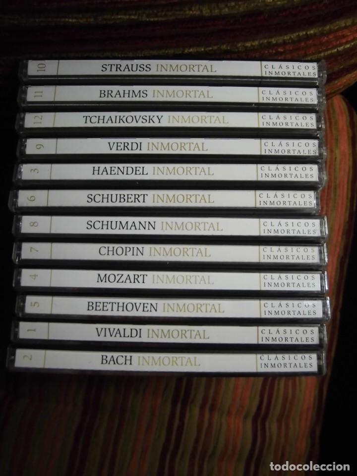 CDs de Música: LOTE 12 CDS MÚSICA CLÁSICA COLECCIÓN INMORTALES - Foto 2 - 184886457