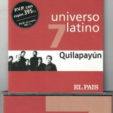 CDs de Música: QUILAPAYUN - UNIVERSO LATINO VOL. 7 (CD, EUROTROPICAL MUSIC 2001). Lote 184911706