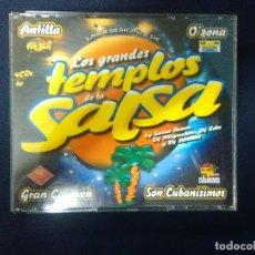 CDs de Musique: LOS GRANDES TEMPLOS DE LA SALSA. Lote 184915310