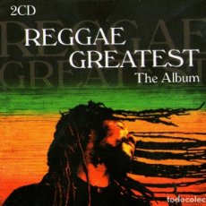 CDs de Música: DOBLE CD ÁLBUM: REGGAE GREATEST - THE ALBUM - 40 TRACKS - BLACK LINE COLLECTION 2015. Lote 184916998