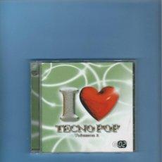CDs de Música: CD - I LOVE YOU TECNO POP - VOL. 2 - CD 2. Lote 184930418