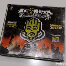 CDs de Música: SCORPIA, CENTRAL DEL SONIDO. FOREVER. 3 CDS. Lote 185444548