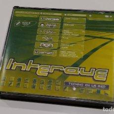 CDs de Música: INTERAVE. TECHNO EN LA RED. 4 CDS. CHOCOLATE. COLISEUM. BACHATTA. . Lote 185447791