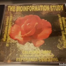 CDs de Música: CD BIOINFORMATION STUDY - CELESTIAL HOPE. BIOMÚSICA NEUROLÓGICA. MEDITACIÓN. NEW AGE. Lote 185658888