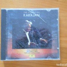 CDs de Música: CD HERBERT VON KARAJAN - THE ESSENTIAL KARAJAN - DEUTSCHE GRAMMOPHON (9Z). Lote 185674237