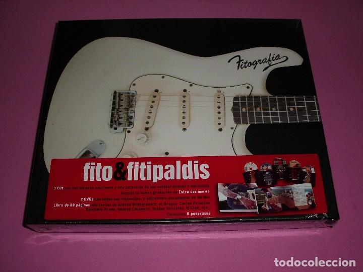 FITO & FITIPALDIS FITOGRAFÍA CAJA ESPECIAL (3 CDS + 2 DVD + LIBRO) NUEVO Y PRECINTADO (Música - CD's Pop)