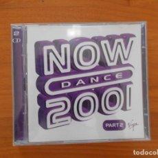 CDs de Música: CD NOW DANCE 2001 PART 2 (SOLO DISCO 1, FALTA EL DISCO 2) (AD). Lote 185715637