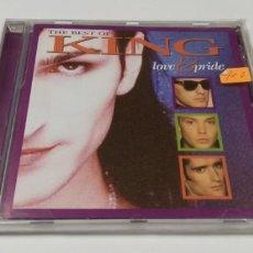 CDs de Música: JJ12- THE BEST OF KING LOVE & PRIDE CD NUEVO REPRECINTADO !!. Lote 185717382