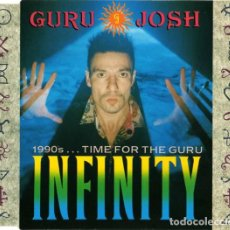CDs de Música: GURU JOSH - INFINITY 1990'S TIME FOR THE GURU. Lote 185717573