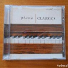 CDs de Música: CD PIANO CLASSICS - BEETHOVEN, DEBUSSY, LISZT, CHOPIN, MOZART, SCHUBERT (AE). Lote 185719402