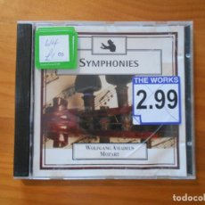 CDs de Música: CD SYMPHONIES - WOLFGANG AMADEUS MOZART (AE). Lote 185720262