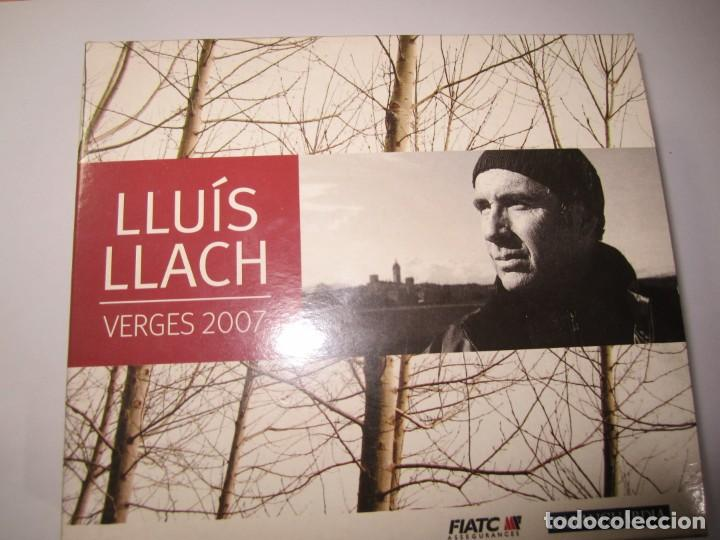 TRIPLE CD LLUIS LLACH VERGES 2007 (Música - CD's Melódica )