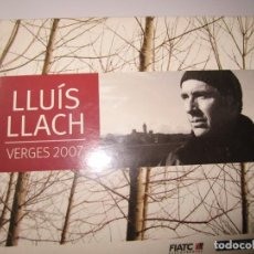 CDs de Música: TRIPLE CD LLUIS LLACH VERGES 2007. Lote 185725917