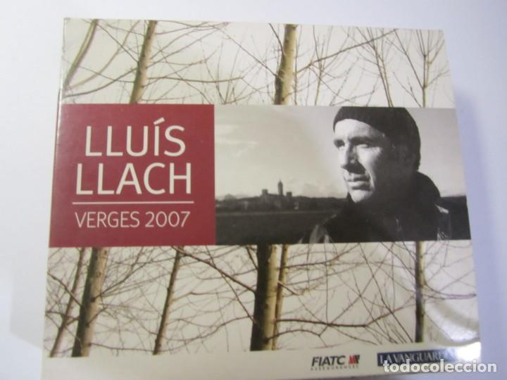 CDs de Música: triple cd lluis llach verges 2007 - Foto 2 - 185725917