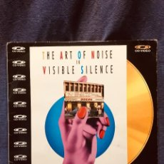 CDs de Música: THE ART OF NOISE IN VISIBLE SILENCE CD VIDEO 1986. Lote 185728185