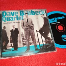 CDs de Música: THE DAVE BRUBECK QUARTET GONE WITH THE WIND CD 2010 EU. Lote 185738732