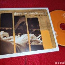 CDs de Música: THE DAVE BRUBECK QUARTET PARK AVENUE SOUTH CD 2003 USA. Lote 185738791