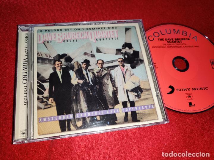 THE DAVE BRUBECK QUARTET THE GREAT CONCERTS CD 2009 EU (Música - CD's Jazz, Blues, Soul y Gospel)