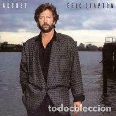 CDs de Musique: ERIC CLAPTON - AUGUST (CD, ALBUM, RE) LABEL:WARNER BROS. RECORDS, DUCK RECORDS (2) CAT#: 7599-25476. Lote 185750588