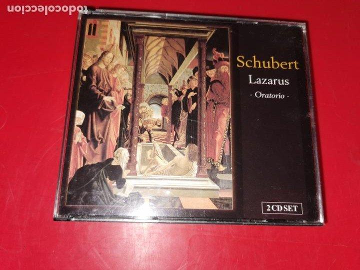 SCHUBERT: LAZARUS BY SIBYLLA RUBENS, CAMILLA NYLUND 2 CD (Música - CD's Otros Estilos)