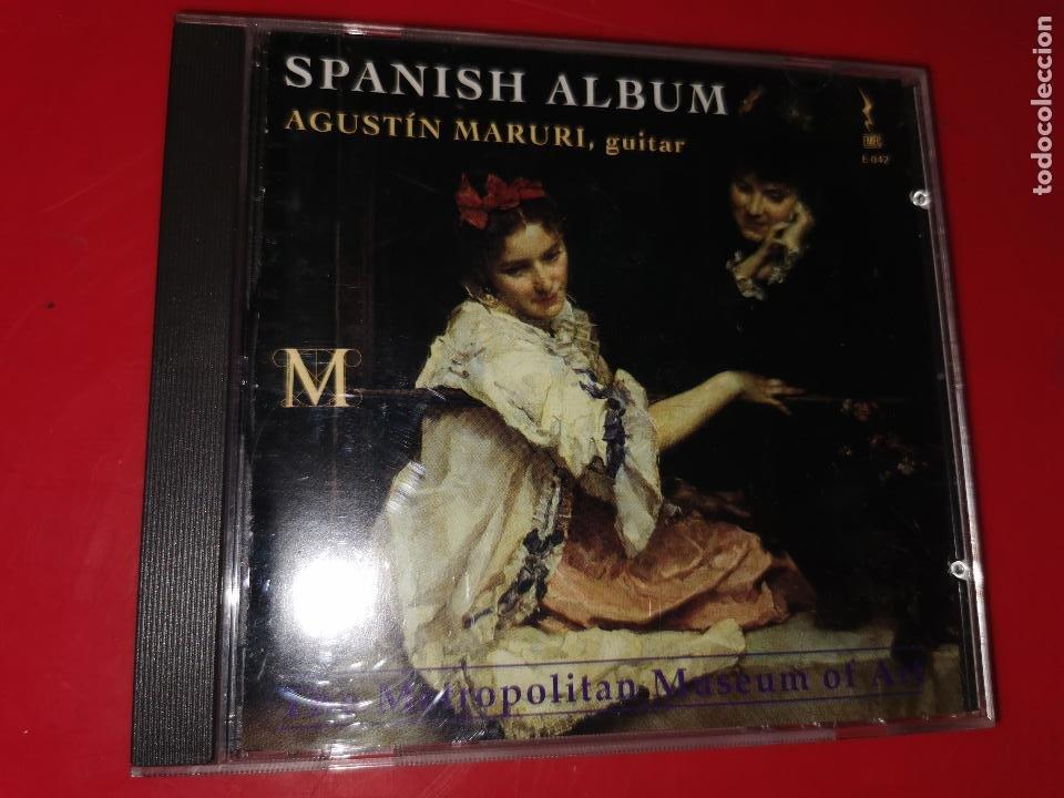 CD ALBUM ESPAÑOL PARA GUITARRA -AGUSTIN MARURI- (Música - CD's Otros Estilos)