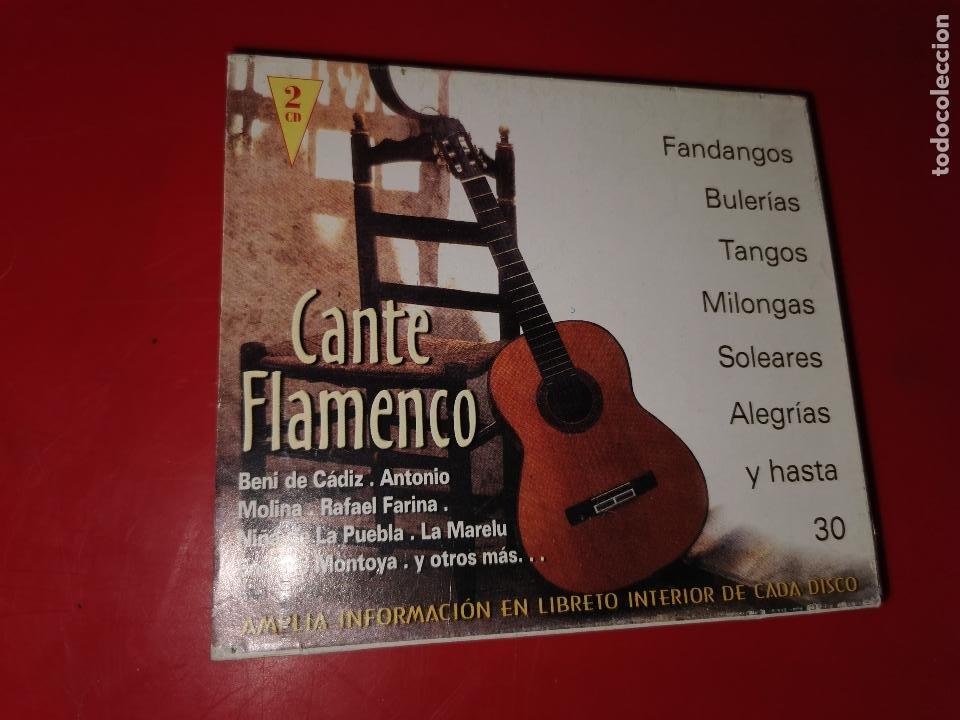 2 CD CANTE FLAMENCO 8429965016222 (Música - CD's Otros Estilos)