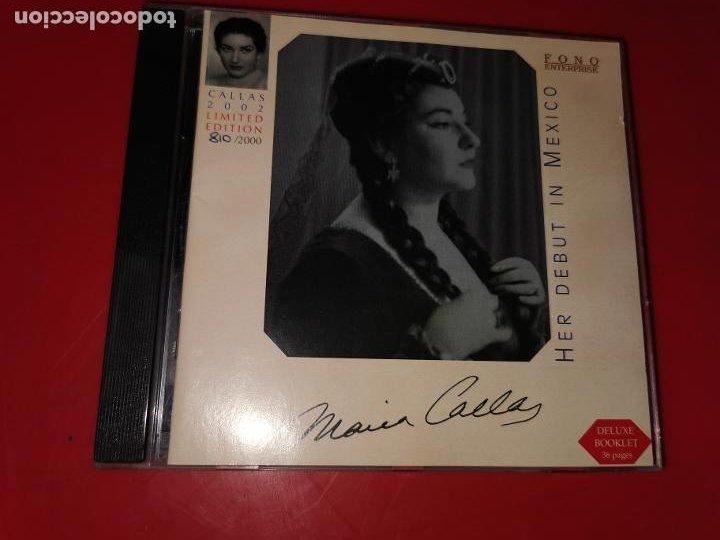 CD MARIA CALLAS: HER DEBUT IN MEXICO (Música - CD's Otros Estilos)