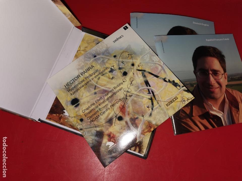 CDs de Música: HÈCTOR PARRA: Prólogo hipermúsico - Foto 2 - 185770258