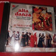 CDs de Música: ALTA DANZA - MÚSICA DE BAILE DE LA ITALIA DEL SIGLO XV 4010072772084. Lote 185770493