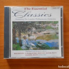 CDs de Música: CD THE ESSENTIAL CLASSICS - FEATURING THE LONDON PHILHARMONIC ORCHESTRA (2 CD'S) (AF). Lote 185774491
