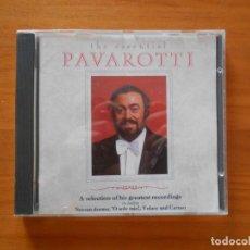 CDs de Música: CD THE ESSENTIAL PAVAROTTI (5J). Lote 185775687