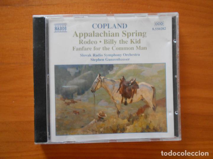 CD COPLAND - APPALACHIAN SPRING - RODEO - BILLY THE KID - FANFARE FOR THE COMMON MAN... (5J) (Música - CD's Clásica, Ópera, Zarzuela y Marchas)