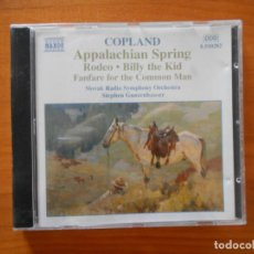 CDs de Música: CD COPLAND - APPALACHIAN SPRING - RODEO - BILLY THE KID - FANFARE FOR THE COMMON MAN... (5J). Lote 185776970