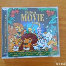 CDs de Música: CD CHILDRENS MOVIE SONGS (5Q). Lote 185876828