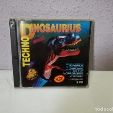 CDs de Música: TECHNO DINOSAURIUS DOBLE CD DANCE. Lote 185876980