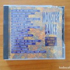 CDs de Música: CD MONSTER DANCE - 16 HUGE DANCE HIT SONGS (5S). Lote 185879753