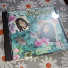 CDs de Música: JEANETTE, SIGO REBELDE, 2 CDS. Lote 185888222